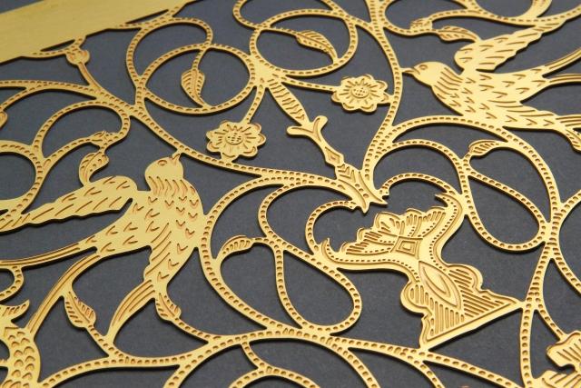 gravure metallique